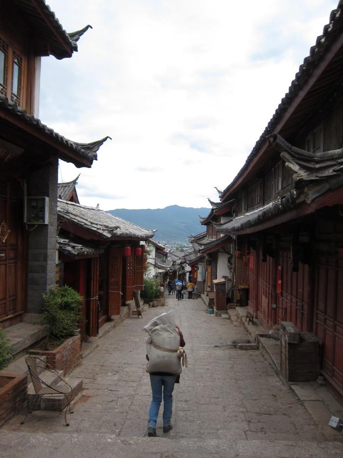 The Old Town of Lijiang, Yunnan, China.