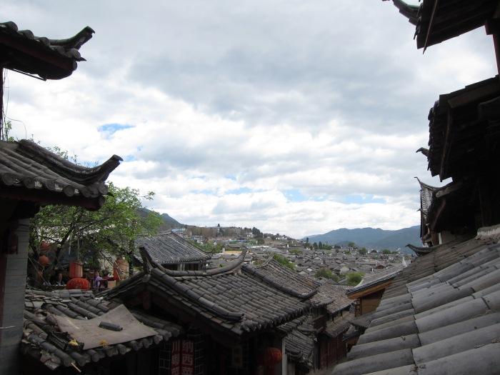 Rooftops of Lijiang.