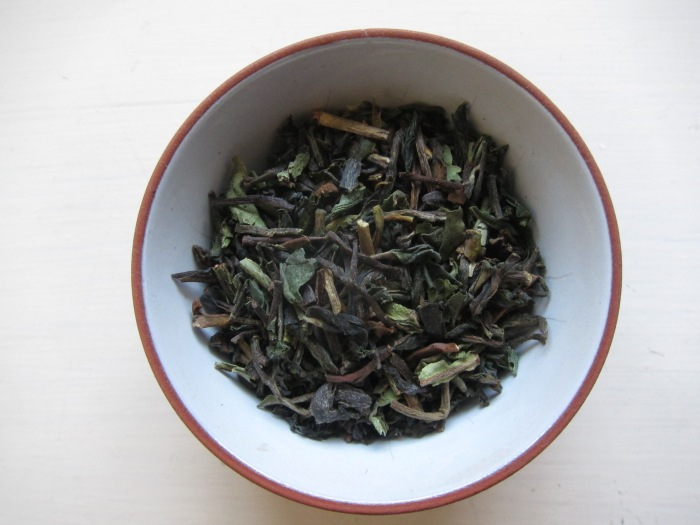 "Kangra ""Green Gold"" black tea."