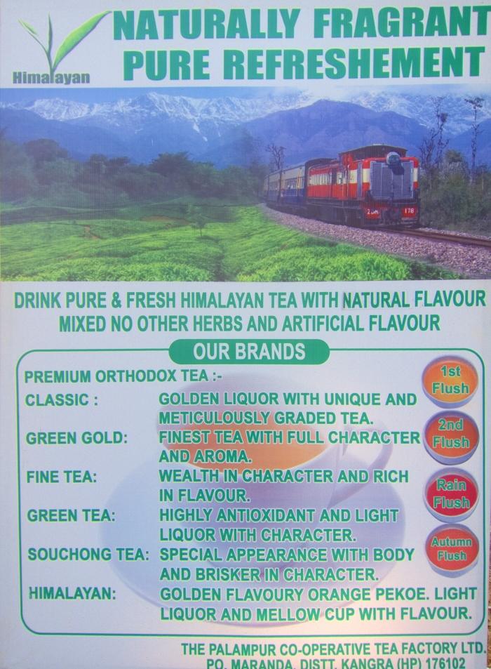 A little marketing help for the Kangra tea farmers.