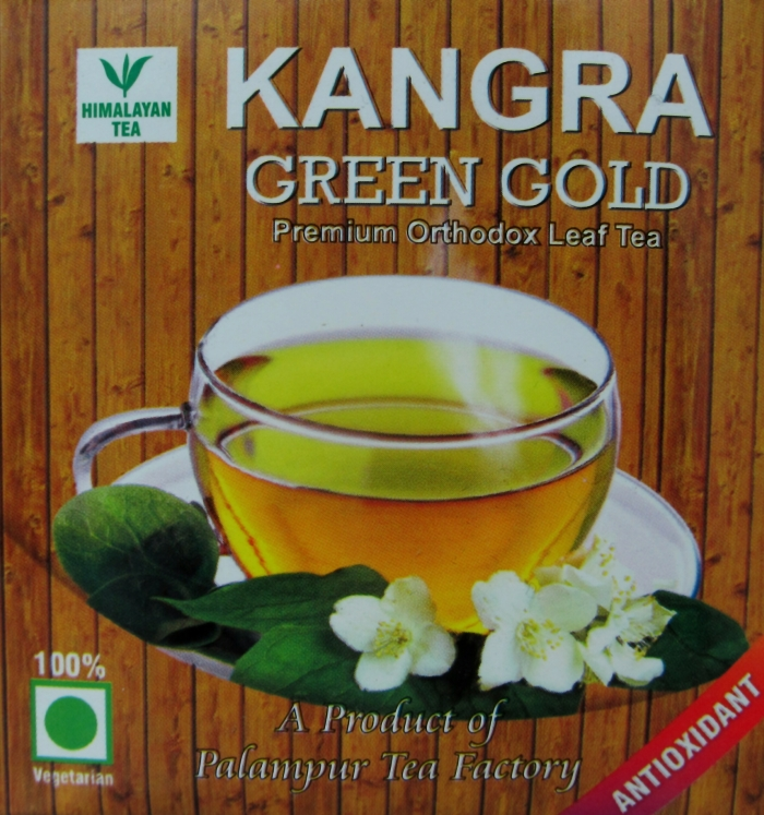 Green Gold: a black tea produced by the Palampur Cooperative Tea Factory.