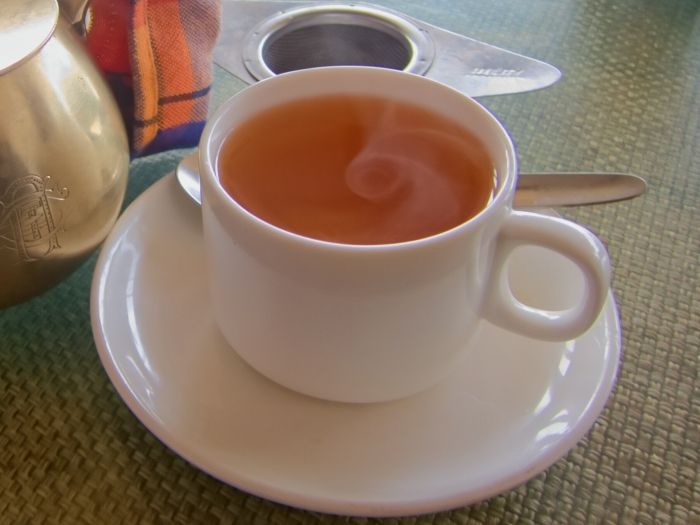A steaming brew at Glenary's, a Darjeeling landmark for years.