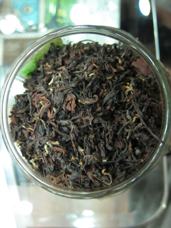 "Gopaldhara Estate's ""Emperor"" second flush tea."