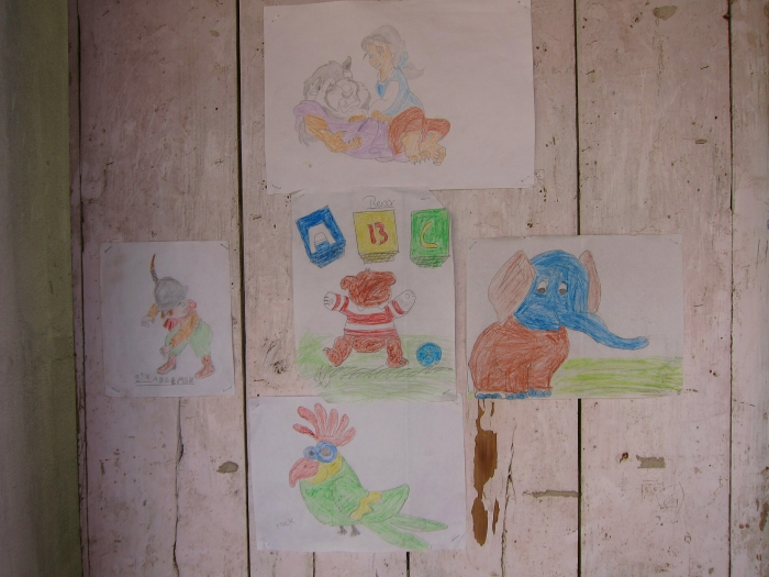 Drawings by Students of Hannah Memorial Academy, Dooteriah Tea Estate.