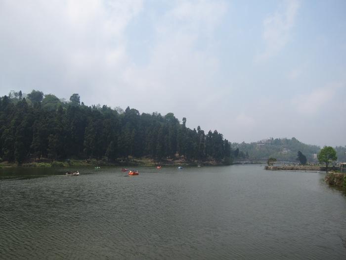 Mirik's small but pretty lake.