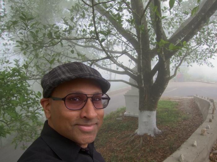 Selfie in Makaibari Mist.