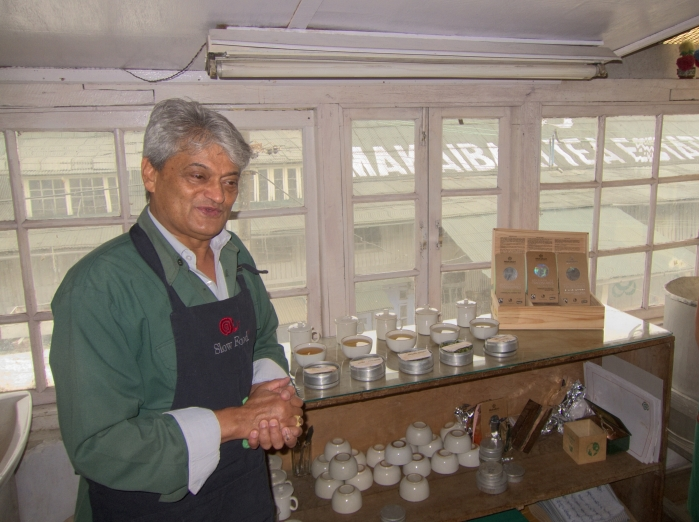 Tea with Rajah Banerjee